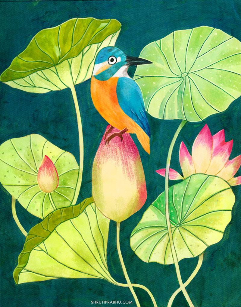 Shruti Prabhu - Florals 1