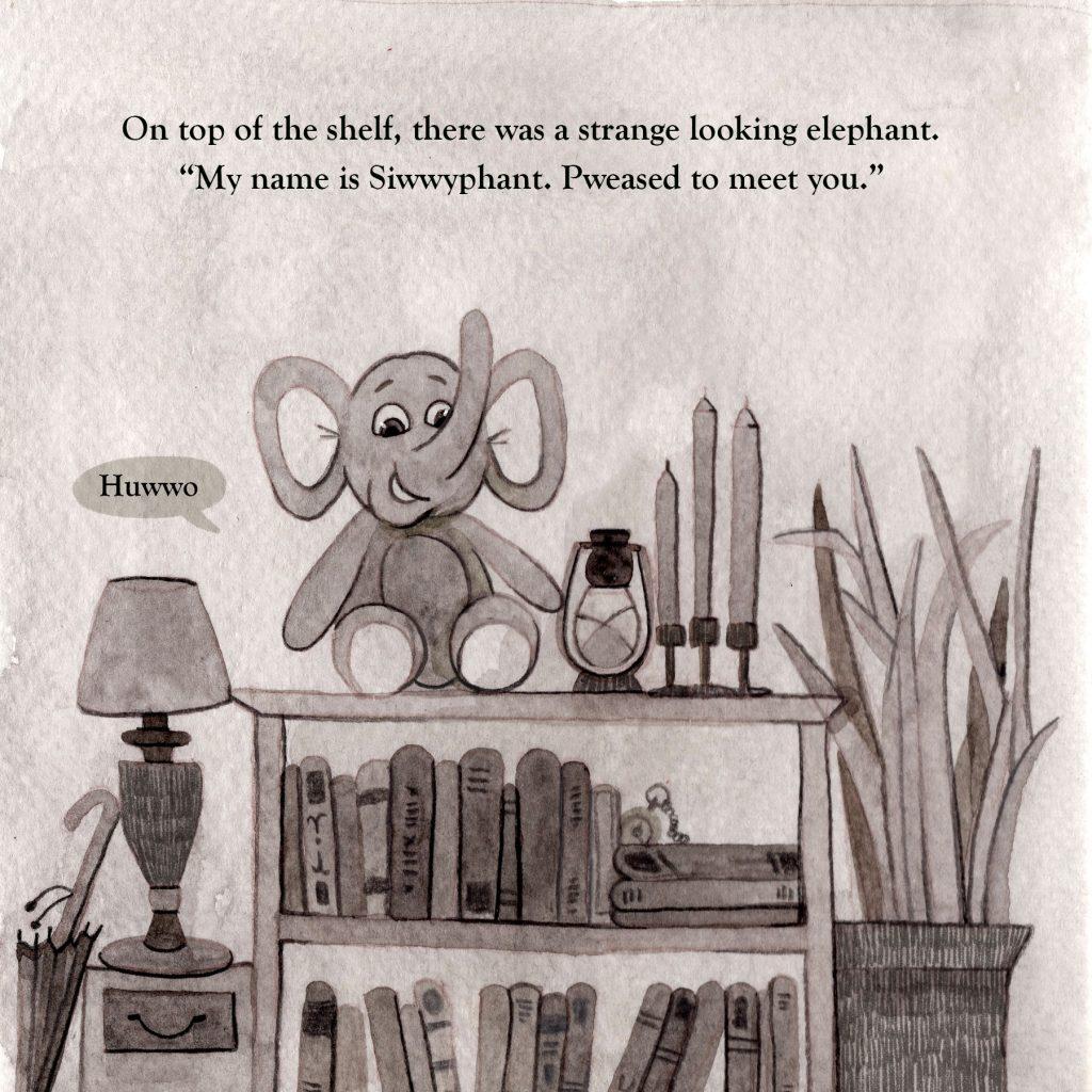 Phanty Can Read - Children's Illustration