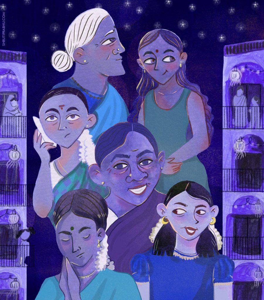 Children's Illustration | South Indian Women