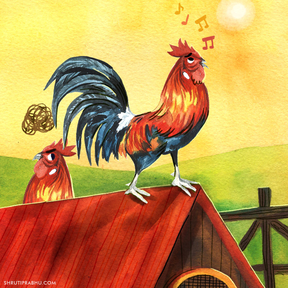 Flora and Fauna - Rooster