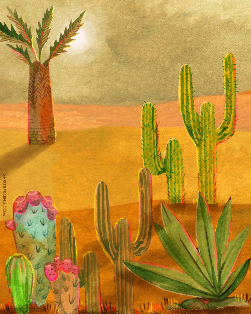 Flora & Fauna - Desert