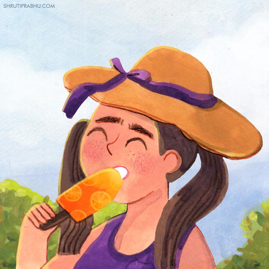 Food Illustration - Ice cream