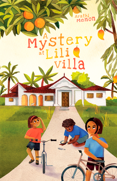 Cover Reveal of A mystery at Lili Villa
