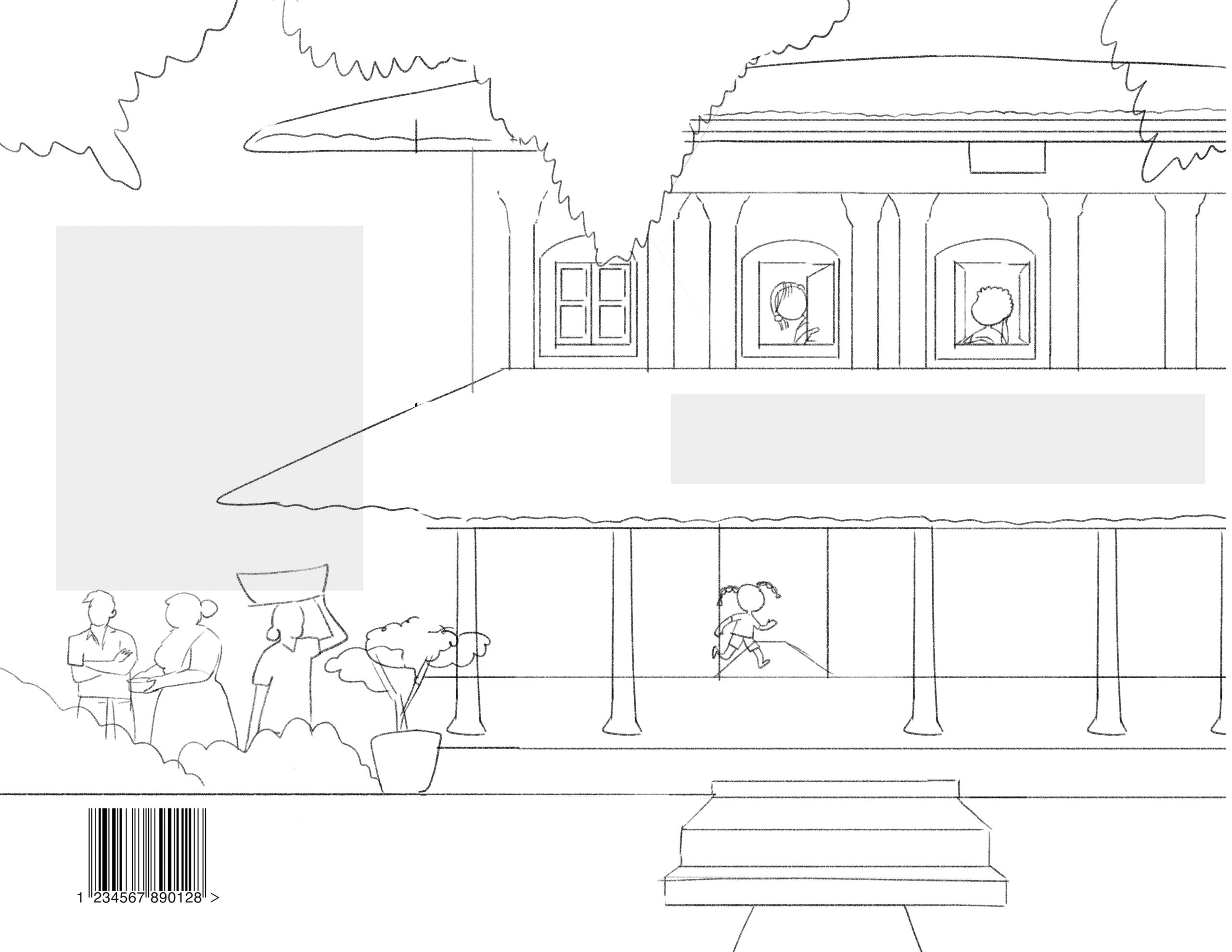 A mystery at Lili Villa Concept Sketches